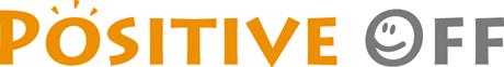 「ポジティブ・オフ」運動ロゴ