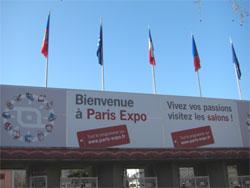パリ展示会場写真