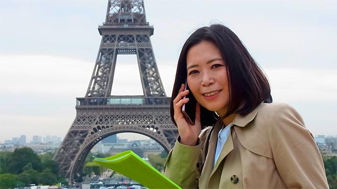 フランスにて「おもてなしのこころ」でお待ち申し上げております。